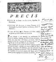 [Factum. De Laizer.1781]