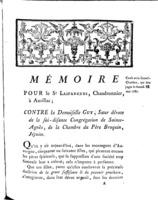[Factum. Lasfargues.1787]