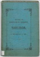Vingt-huit ans d'observation et d'expérience à Carlsbad : avec l'histoire et la description de la ville, de ses environs, etc