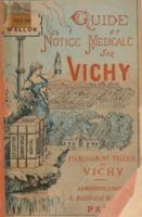 Guide et notice médicale sur Vichy