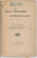 La cure thermale de Bourbon-Lancy