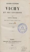 Vichy et ses environs : ouvrage illustré de 23 vignettes et accompagné d'un plan