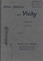 Notice médicale sur Vichy : les eaux, la cure