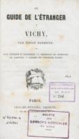 Guide de l'étranger à Vichy