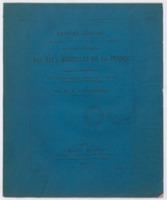 Rapport général à M. le ministre de l'agriculture et du commerce sur le service médical des eaux minérales de la France pendant les années 1872-1873