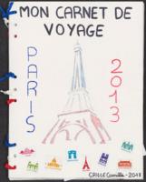 Mon carnet de voyage : Paris 2013