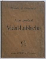 Atlas général Vidal-Lablache : 420 cartes et cartons, index alphabétique de 46000 noms