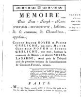[Factum. Noyer-Dubouyt, Jean-Joseph-Marie. An 11?]