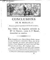 [Factum. Chazerat. 1810?]