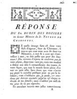 [Factum. Burin des Roziers. 1774]