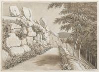 Le haut de la Vallée de Royat [légende manuscrite]