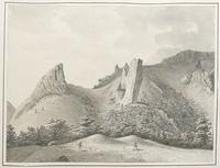 Fin de la vallée de Chaudefour [légende manuscrite]